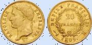 20 Francs 1809, Toulouse_détouré