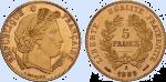 5 Francs 1889 A_détouré